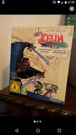 Nintendo Wii u zelda limited edition wind waker twilight Princess