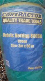 Debris Netting 80GSM (Scaffolding)