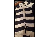 Large black bag of newborn 0-3 boys clothes SOME NEW!!