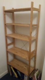 Ikea pine bookshelf good condition