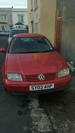 Vw bora 2.0 SE 2003 petrol