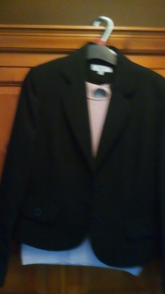 New next tailored black jacket/ blazer , 3 pairs of trousers