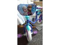 disney frozen bike 10 in
