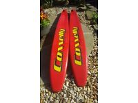 CONNELLY 67 WATER SKIS,HG EXTREME WATER SKIS AND O'BRIEN MONOSKI
