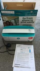 HP printer/scanner Deskjet 3735, small & blue
