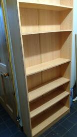 Shelf unit - beech effect