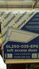 Insulated loft access door hatch brand new in box