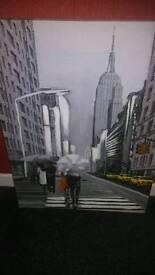 Empire state canvas