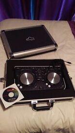 Pioneer DDJ-WeGO-W USB DJ Controller & Gorilla Cases Flight Case