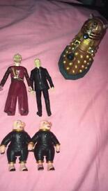 Doctor Who Figures.