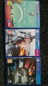 Ps4 games for sale £10