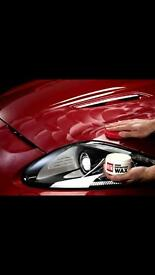 Car Vax polish valet.