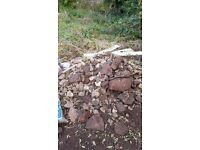 Free Stone and Rubble for collection