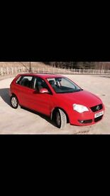 Volkswagen Polo 1.4 S Red, New engine with 75,000 on it, great first car, cheap insurance group