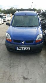 2004 RENAULT KANGOO SL 19 DCI 70 SWB (MANUAL DIESEL)- FOR PARTS ONLY
