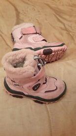 Girls Clarks Winter boots