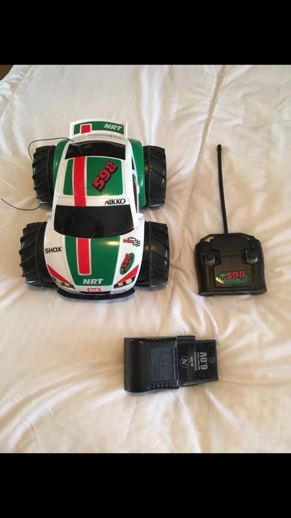 Nikko vaporiser remote control car
