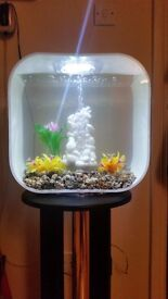 Biorb Life S30 (30 litre) Fish tank aquarium with heater, ornaments and gorgeous pedestal stand