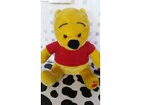 Winnie Pooh and Minion cushion