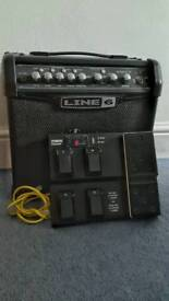 Line 6 spider IV 15 and FBV express MKII