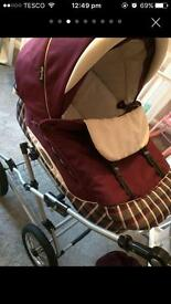 Babystyle Bouncy Pram (mint condition)