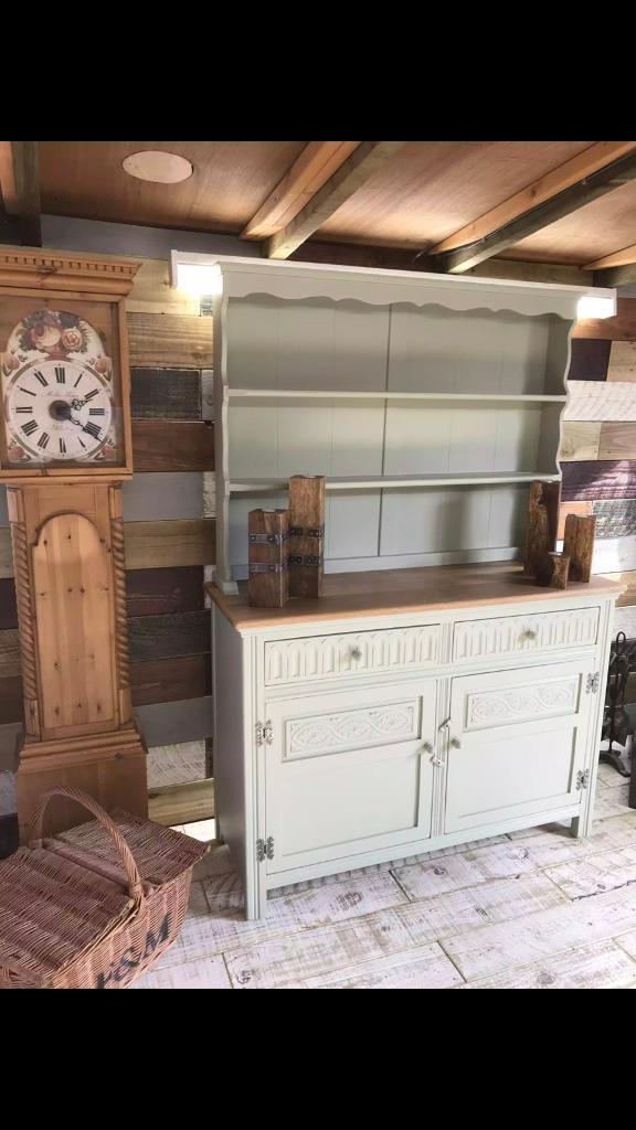 Hand Painted vintage Jaycee dresser