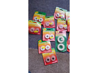 40 packs of tapes