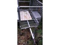 small garden trailer good condition ready to use