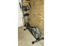 Nordic Track E9 ZL Rear Drive Elliptical Cross Trainer in Black - A1 Condition