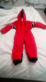 Childs Ski/snow suit. Age 2-3