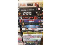 VHS cassettes need a good home - over 60 films