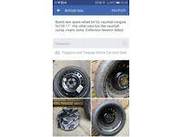"Spare wheel 5x 120 17"""