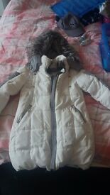 Girls next winter coat age 9 worn twice