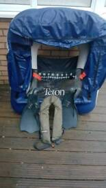 Float tube + flippers +lifejacket