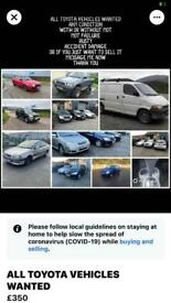 All scrap cars and vans wanted cash waiting