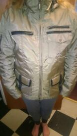 Ladies Motorcycle Parker Style Coat - As new barely worn