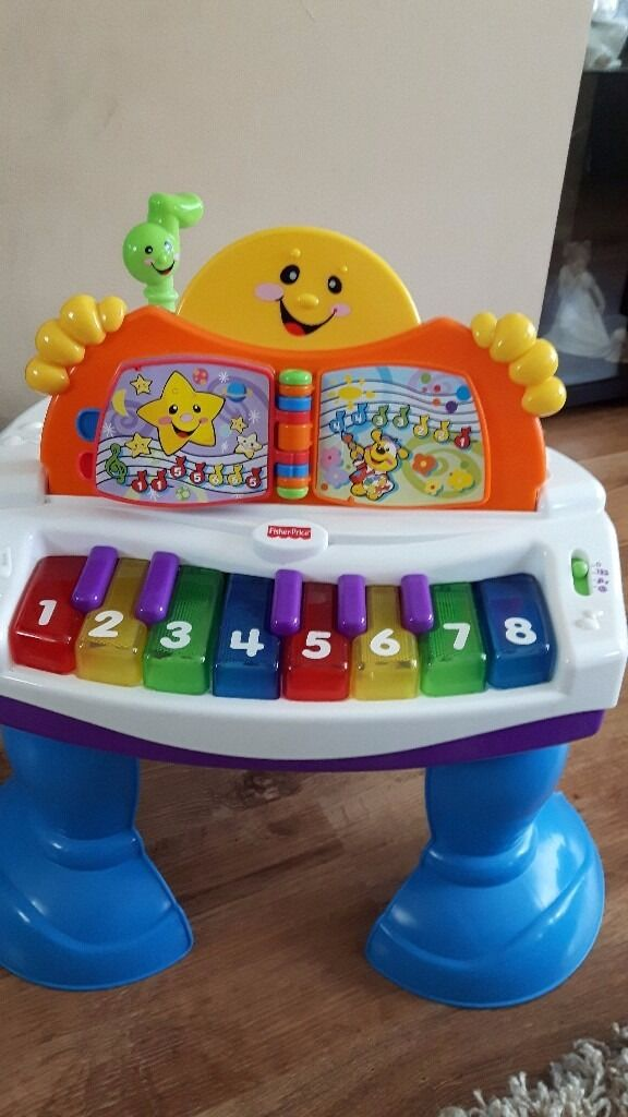 Fisher Price Baby Grand Piano, Baby Toy - GREAT CHRISTMAS GIFT IDEA