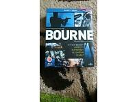 The BOURNE collection BLURAY NEW