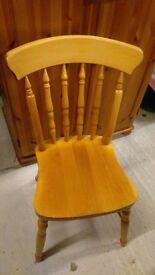 11 farmhouse pine farmhouse dining chairs