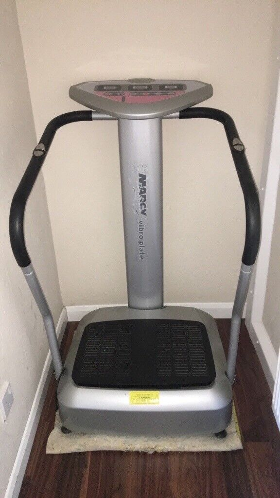 Marcy vibro plate from a smoke and pet free home. Selling due to needing space