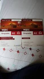 WJEC A level Geography Revision Guide