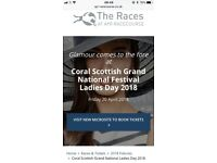 X2 club Scottish Grand National tickets, Ayr Racecourse