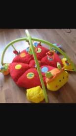 Mamas and papas Lottie ladybird baby play mat