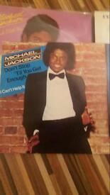 Michael.Jackson limited edition red vinyl