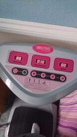 Motion fitness machine