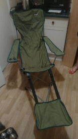 Campling chair, foldable