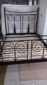 Ikea - Metal Double Bed Frame