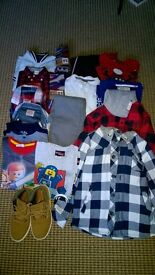 Boys clothes bundle (age 6-7)