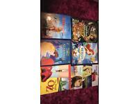 Disney classics/ wizard of oz DVDS