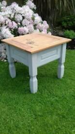 Corona pine shabby chic table